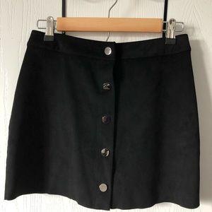 Naked Zebra Mini Skirt